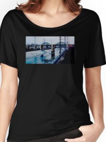Under the Bridge Downtown Los Angeles Women's Relaxed Fit T-Shirt
