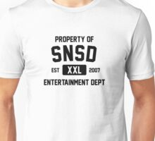 Property of SNSD (Black Ver) Unisex T-Shirt