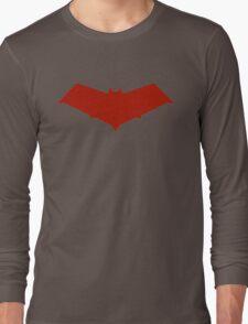 Red Hood Logo Long Sleeve T-Shirt