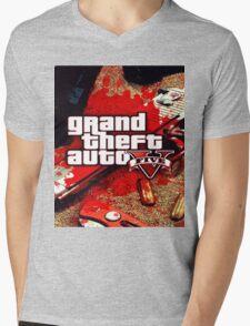 gta v Mens V-Neck T-Shirt