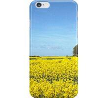 Rapeseed Oil Field. iPhone Case/Skin