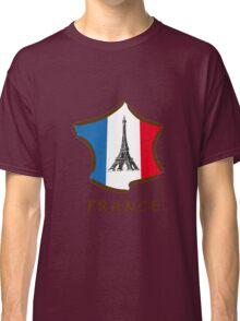 France with Eiffel Tower ! Classic T-Shirt
