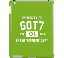 Property of GOT7 (White Ver) iPad Case/Skin