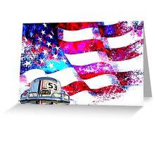 Herbie the Patriot Greeting Card