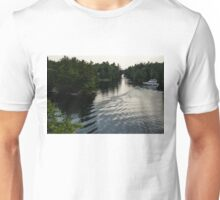 Silver Light and Ripples - Thousand Islands, Saint Lawrence River Unisex T-Shirt