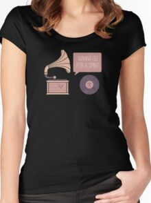 The Player Women's Fitted Scoop T-Shirt