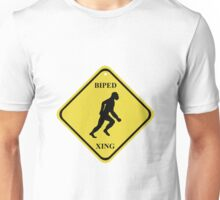 BIPED XING Street Sign Unisex T-Shirt
