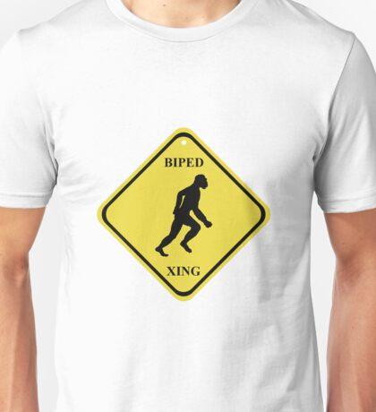 BIPED XING Street Sign Unisex T-Shirt