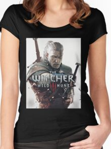 the witcher Women's Fitted Scoop T-Shirt