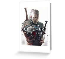 the witcher Greeting Card