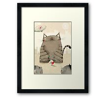 Mouse Hero Framed Print