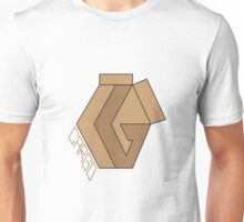 "CARGO Big Logo ""Cardboard #1"" by Rilwan Kujenya Unisex T-Shirt"