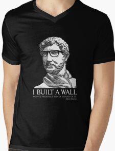 Hipster Hadrian Mens V-Neck T-Shirt
