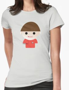 Self portrait - 1st grade Womens Fitted T-Shirt