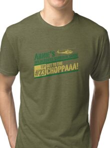 Get to the Choppa! Tri-blend T-Shirt