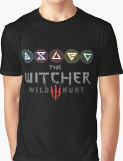 Witcher 3 - Signs Graphic T-Shirt