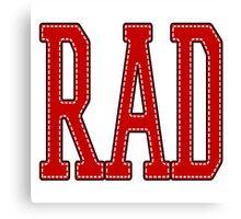 RAD! Canvas Print
