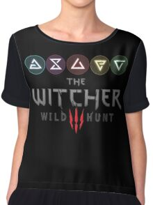 Witcher 3 - Signs Chiffon Top