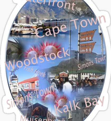 Greetings from Cape Town Sticker