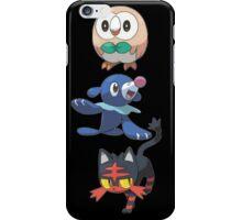 Pokemon Sun and Moon Starters iPhone Case/Skin
