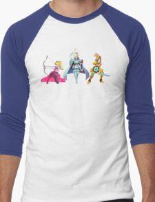 Fight Like a Princess Men's Baseball ¾ T-Shirt