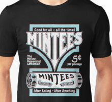 Mintees (White - 3D) Unisex T-Shirt