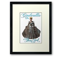 After midnight. A princess fairytale Framed Print