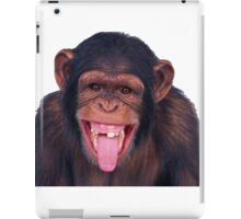 Funny and awesome monkey iPad Case/Skin