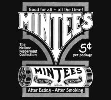 Mintees (White) One Piece - Short Sleeve