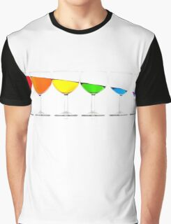 Downhill liquids - Ink Graphic T-Shirt