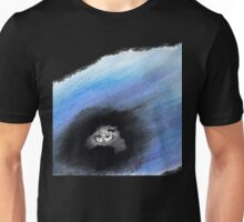 Girl in Blue Aura Unisex T-Shirt
