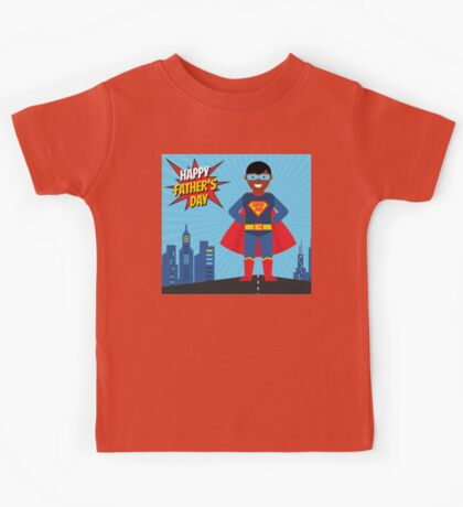 black super dad Kids Tee