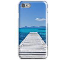 Summer blue sea iPhone Case/Skin
