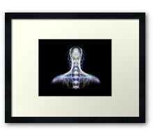 A Creature From The Back Framed Print