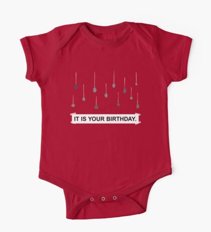 The Office - It Is Your Birthday. One Piece - Short Sleeve