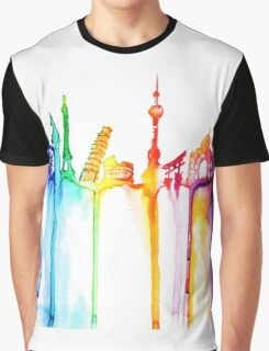 rainbow world Graphic T-Shirt