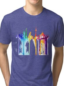 rainbow world Tri-blend T-Shirt