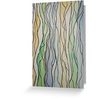 Lines I Greeting Card