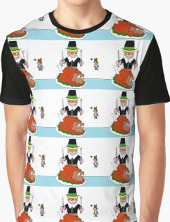 A disturbing thanksgiving... Graphic T-Shirt