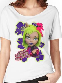 Blooming Clawdeen Women's Relaxed Fit T-Shirt