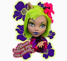 Blooming Clawdeen Womens Fitted T-Shirt
