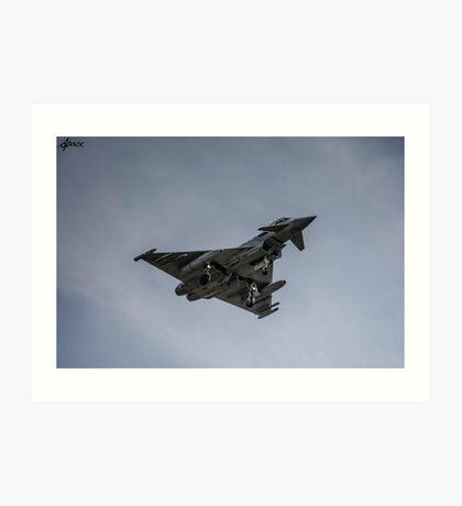 RAF Typhoon RAF Coningsby  Art Print