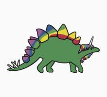 Stegocorn (Unicorn Stegosaurus) Kids Tee