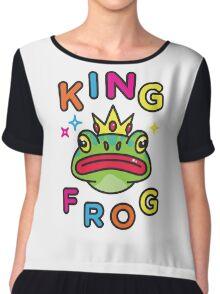 King Frog Chiffon Top