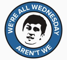 We're all Wednesday Aren't We One Piece - Long Sleeve