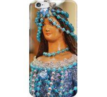 Blue Star Madonna iPhone Case/Skin