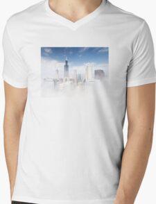 Chicago Fog Mens V-Neck T-Shirt
