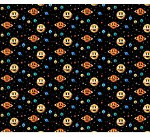 Cute Planets pattern Photographic Print