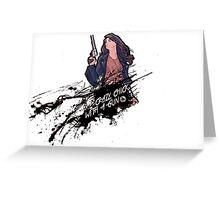 Wynonna Earp Greeting Card