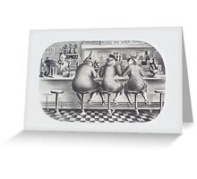 Julia Rogers - The Three Graces - Federal Art Project Greeting Card